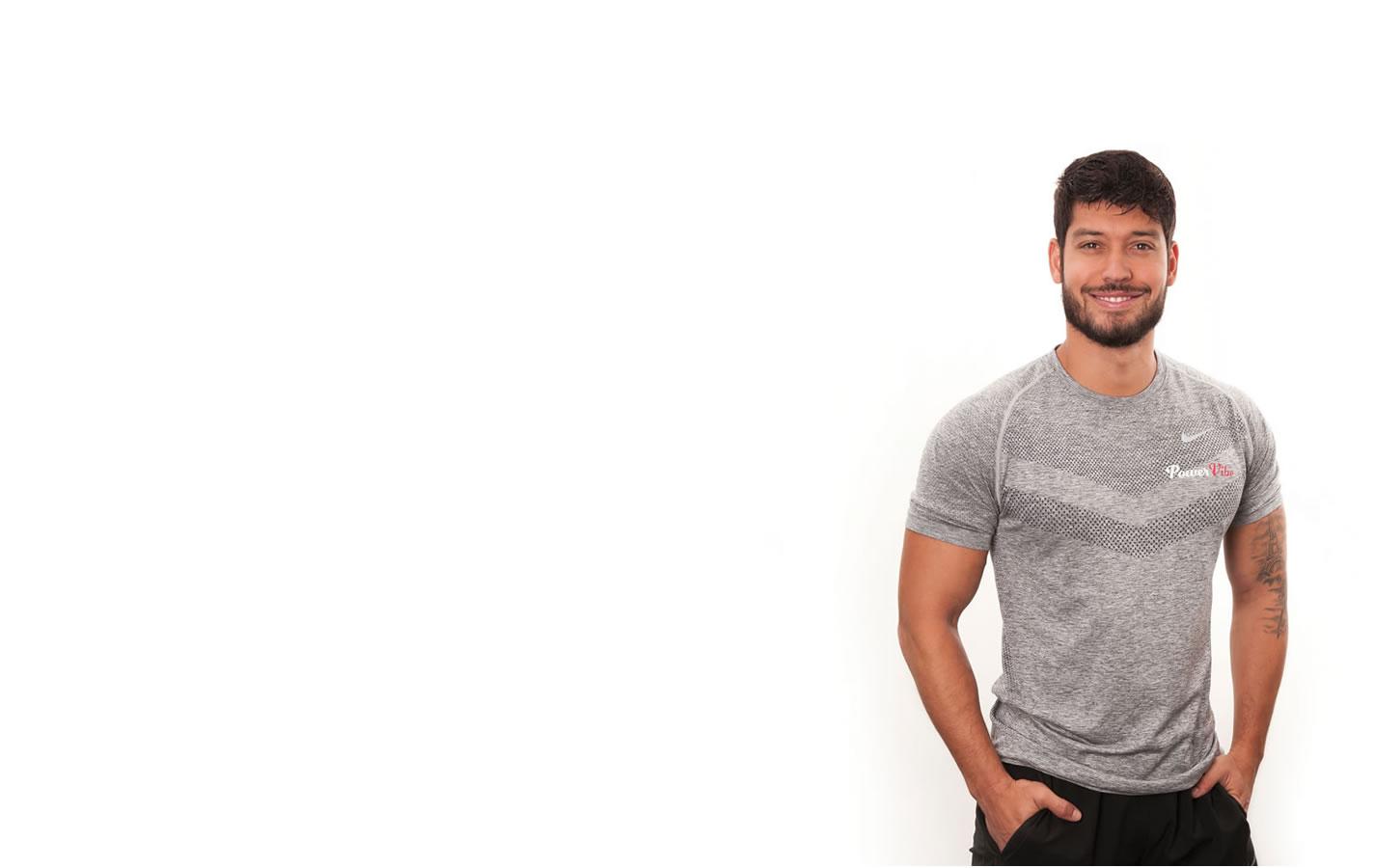Powervibe personal trainer Maykon Alvarenga
